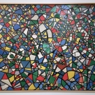 Abstract Parrot, ca. 1948, oil on canvas, Istanbul Museum of Modern Art