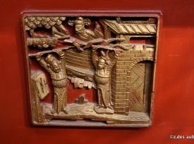 Architectural carving detail