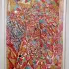 Untitled, Brighton 9 June 1949, mixed media on paper