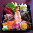 """Chirazuzushi, meaning """"scaterred sushi"""", always colorful and delicious"""