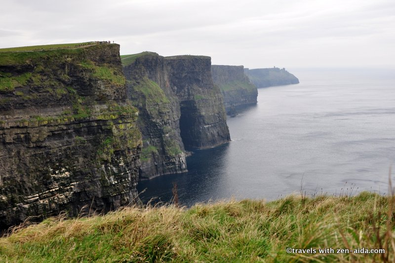 The dramatic Cliffs with a more than 200 m. drop