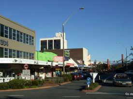 Downtown Rotorua - reason to head out into nature...